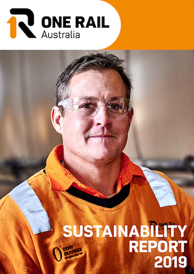Cover of the 2019 Sustainability Report